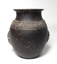 Nice Egyptian basalt jar, Predynastic – Early Dynastic