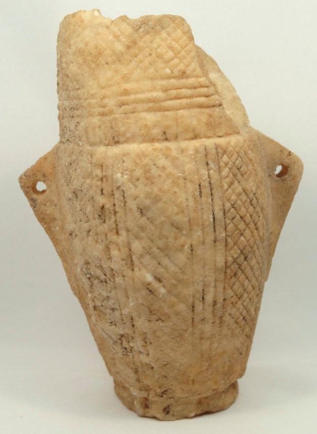 An Eastern Mediterranean alabaster vessel