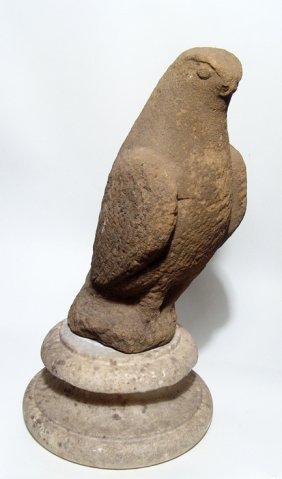 A Roman sandstone eagle