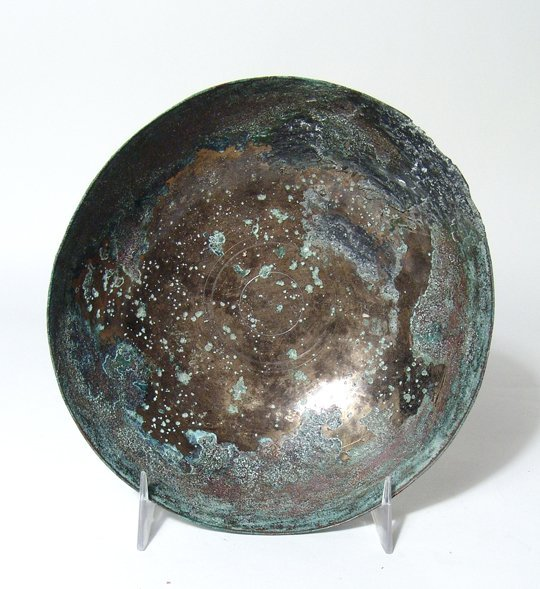 A Near Eastern bronze bowl