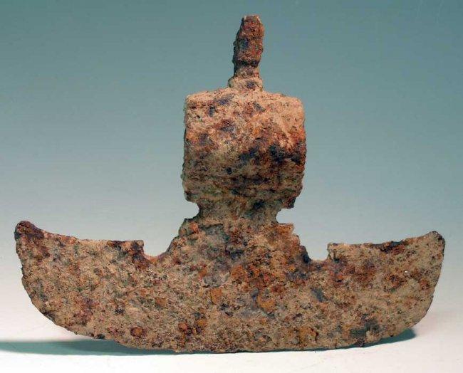 A fine Kushan iron axe