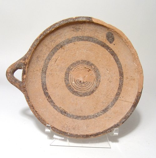 A Cypro-Archaic ceramic plate