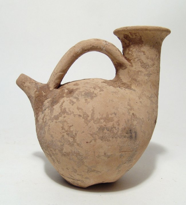 A Greek terracotta askos