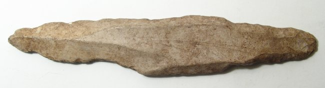 A very nice Neolithic stone blade