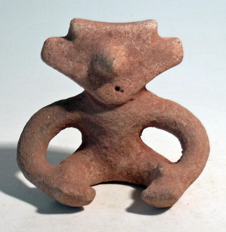 An unusual Quimbaya figure from Colombia