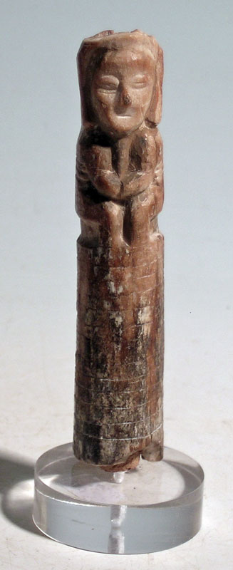 An excellent Tumaco bone idol from Colombia