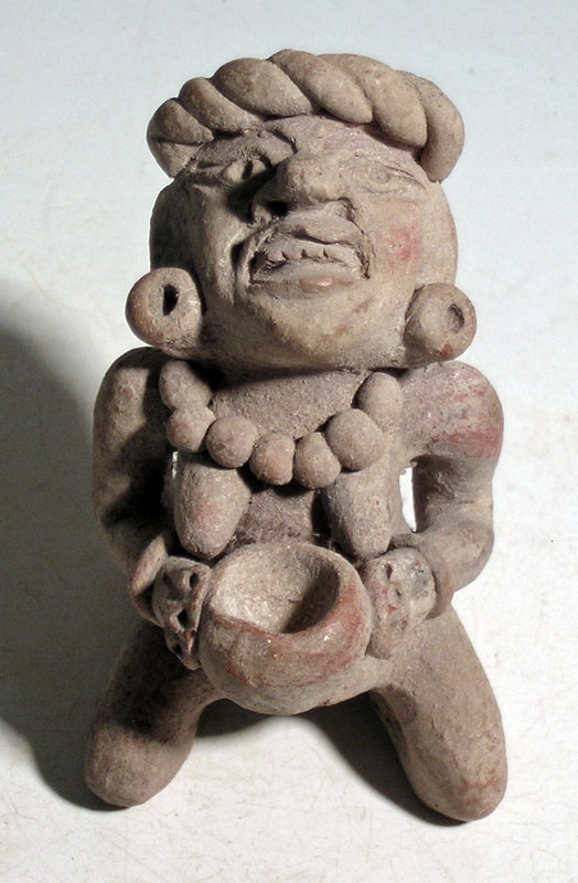 A rare Toltec figurine from Mexico