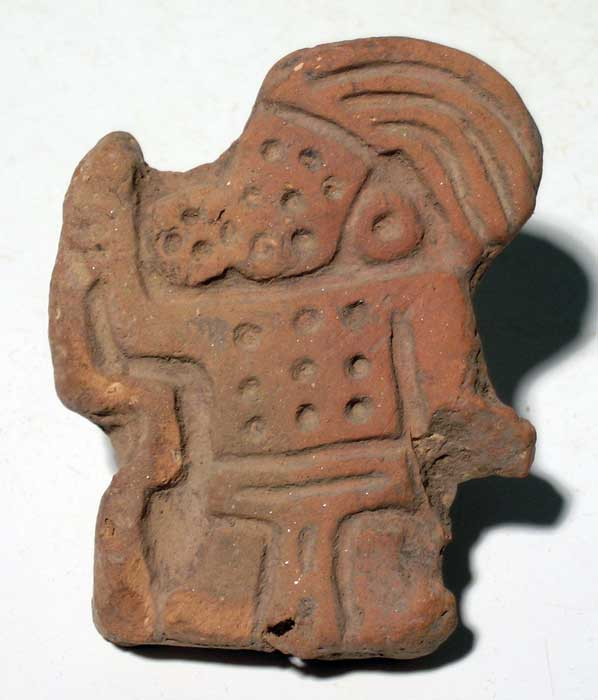 Maya stamp from the Sula Valley of Honduras