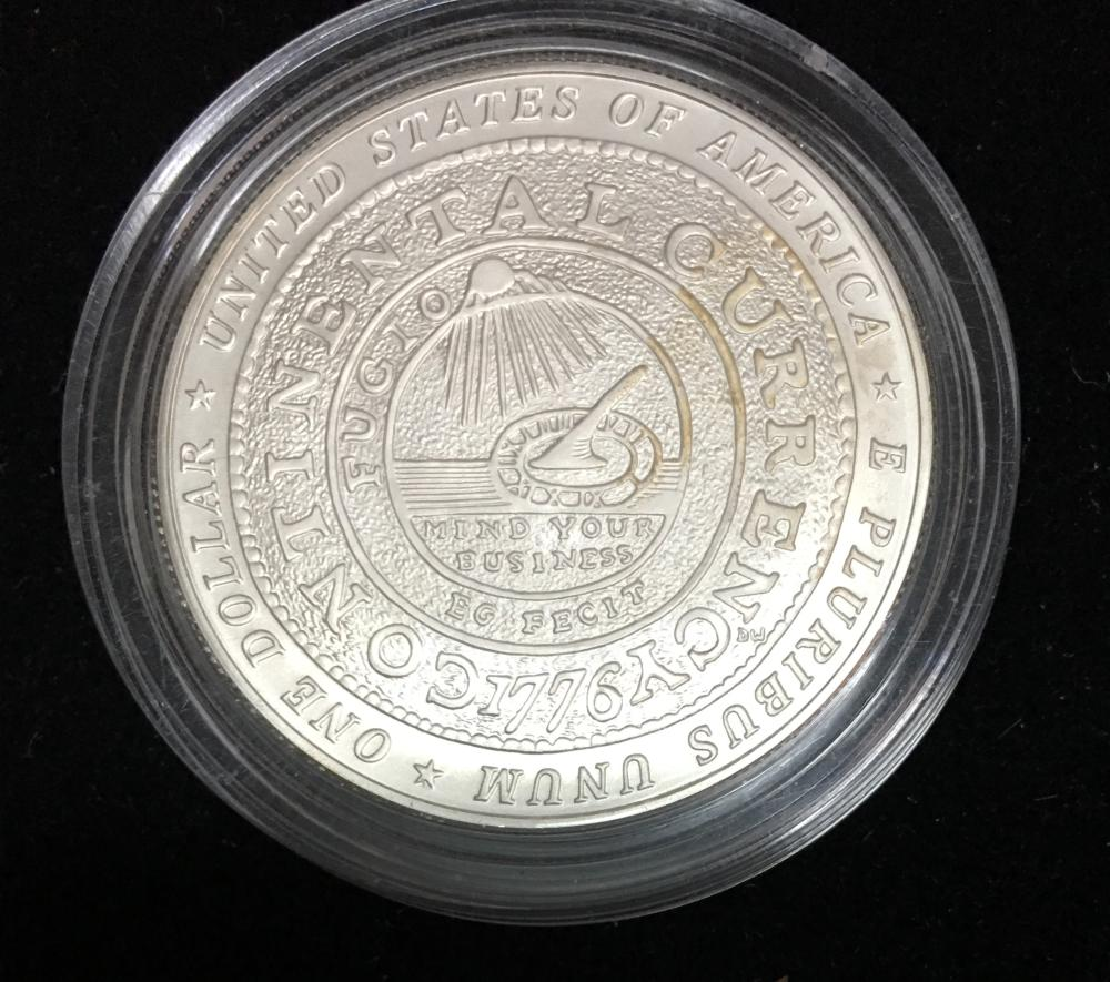 2006-P US Benjamin Franklin Founding Father Commemorative BU Silver Dollar