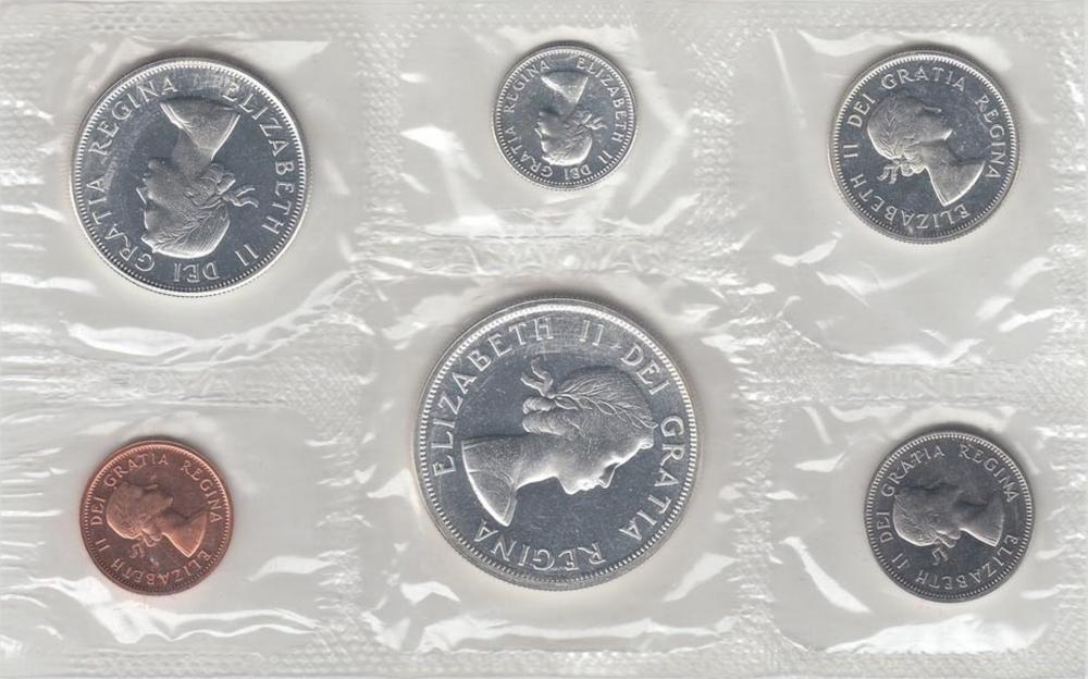 1963 Canada Proof Like Set