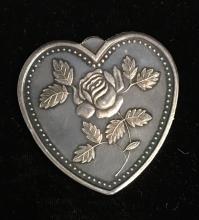 Silver Heart 1 tr. oz .999 Fine Silver -