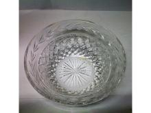 Large Waterford Glandore Crystal Finely Cut Bowl.