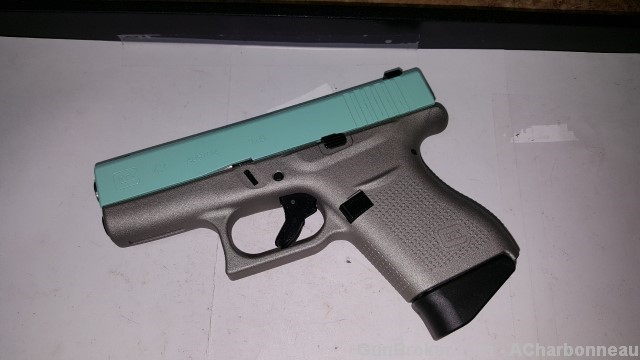Glock 43 with Diamond Sights