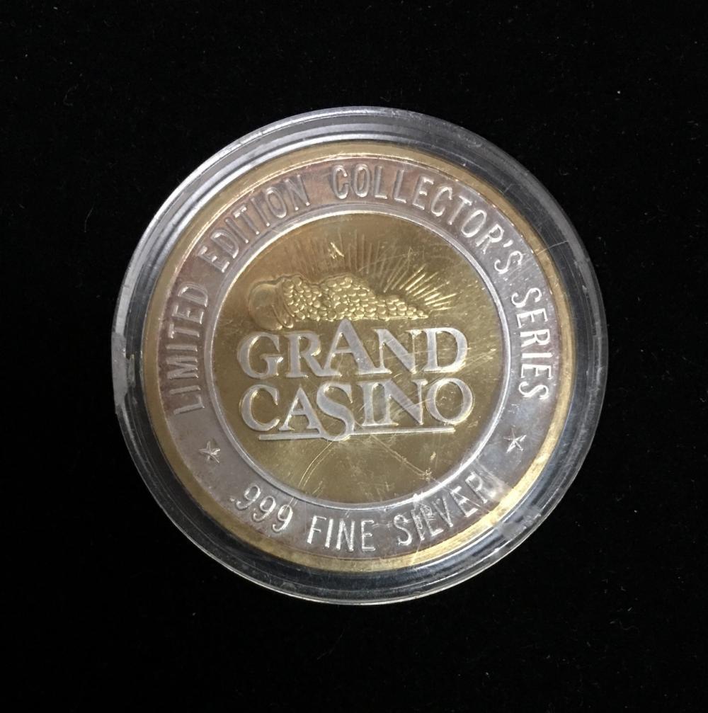 grand casino .999 fine silver