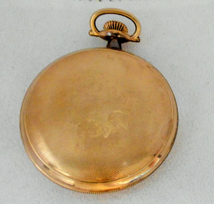 waltham pocket watch how to open