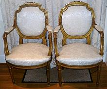 Pair of French late 19th / early 20th century