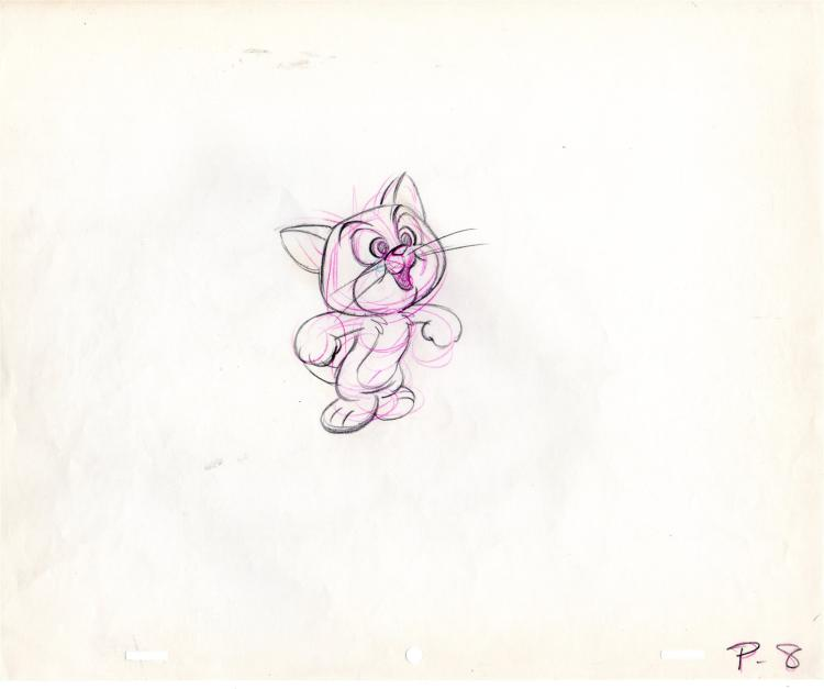 Gay Purr-ee Robespierre Production Drawing 1962