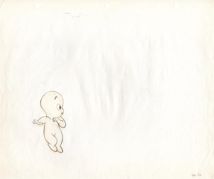 Casper the Friendly Ghost Production Cel 1960s