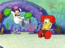 SpongeBob SquarePants Production Drawings Karate Choppers 1999