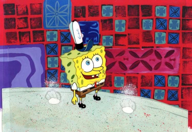 SpongeBob Squarepants on Stage  from FIRST SEASON