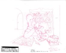 The Simpsons Publicity drawing 1998