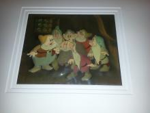 SNOW WHITE AND THE 7 DWARFS 1938 Walt Disney Production cel