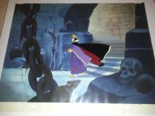 SNOW WHITE AND THE 7 DWARFS 1938 Production cel setup from Walt Disney
