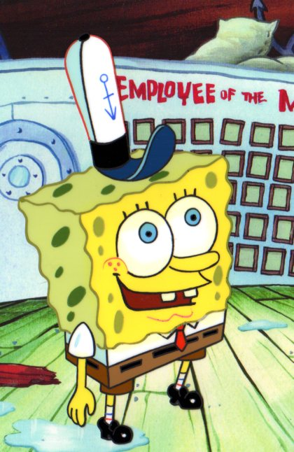 SpongeBob SquarePants Production cel 1999