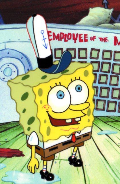 SpongeBob SquarePants Production cel 1999