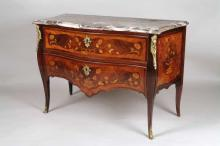 Piedmontese commode with two drawers