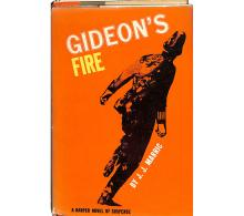 Gideon's Fire: A Harper Novel of Suspense by J.J. Marric, signed and inscribed by author