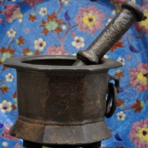 15th Century Spanish (Hispano-Moresque) Mortar