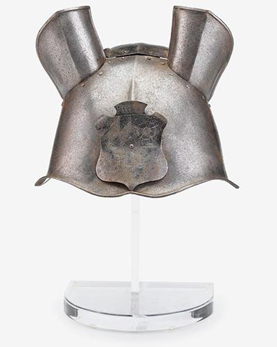 Decorated German Horse Head Armor Circa 1600