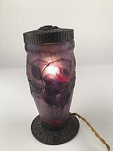 G. Argy- Rousseau  pate de verre lamp.