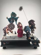 Musical automaton with five moving figures