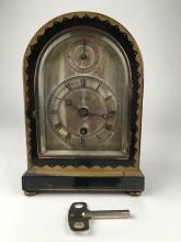 Tiffany and Company wood mantle clock