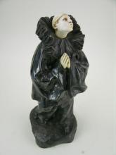 Lucien Charles E. Alliot Pierrot figure.