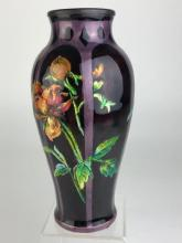 Camille Faure (French: 1874-1956) vase with flowers