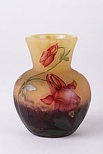 Four Color Daum Nancy Vase