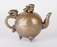 Chinese Bronze Teapot