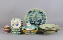 21 Pieces Chinese Porcelain Dishes