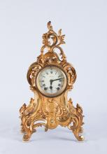 19th Century French Dore Bronze Clock