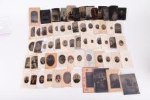 64 Tintypes & Cartes-De-Visite