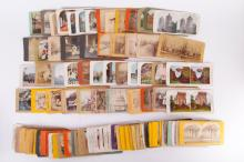 90 Pieces Cards with Some Stereoscopic views
