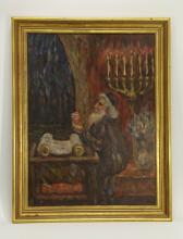 European Oil Painting, Marked