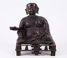 Ming Dynasty Bronze Buddha