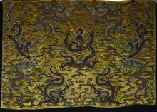 Chinese Silk Embroidery of Dragon