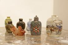Group of Chinese Snuff Bottles