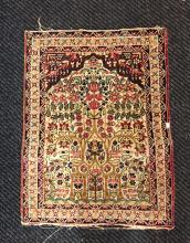 Persian Rectangular Small Rug From