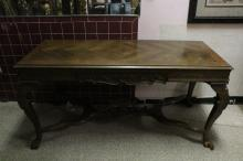 French Empire Center Hall Long Table -19th C.